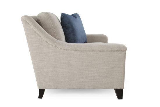 "Textured Metropolitan 39.5"" Chair in Cream"