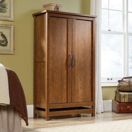 "60"" Contemporary Storage Cabinetin Milled Cherry"