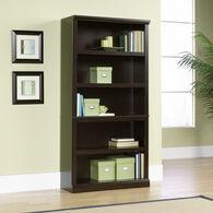MB Home Genesis Jamocha Wood 5-Shelf Bookcase