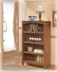 Ashley Cross Island Brown Medium Bookcase