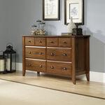"33"" Traditional Beveled Dresser in Oiled Oak"