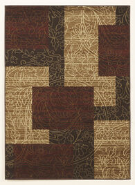 Ashley Rosemont Red/Brown/Gold Medium Rug