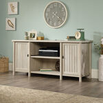 "65"" Contemporary Planked-Door Credenza in Chalked Chestnut"
