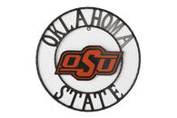 "18"" Oklahoma State University Metal Wall Décor"