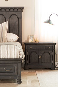 Magnussen Home Bedford Corners Black Bachelor Chest