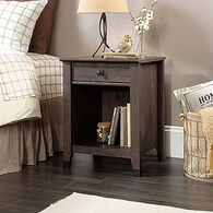 MB Home Central Avenue Coffee Oak Night Stand