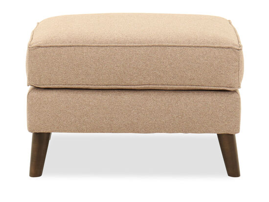 "Contemporary 27.5"" Ottoman in Brown"