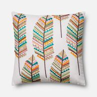 "Loloi Contemporary 22""x22"" Cover w/poly pillow in Multi"