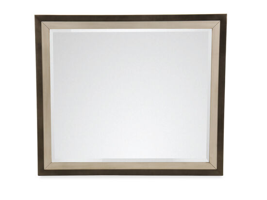 Casual Mirror in Brown