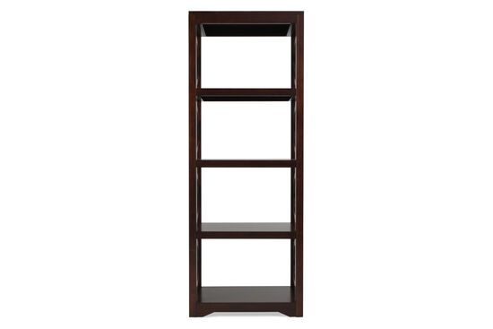 Contemporary Etagere in Dark Brown