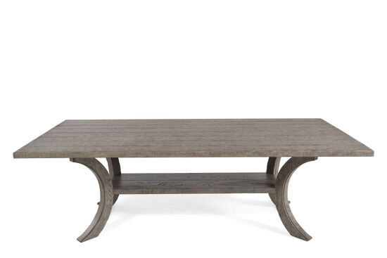 """Refined Romantic Luxury 46"""" Planked Dining Table in Ash"""