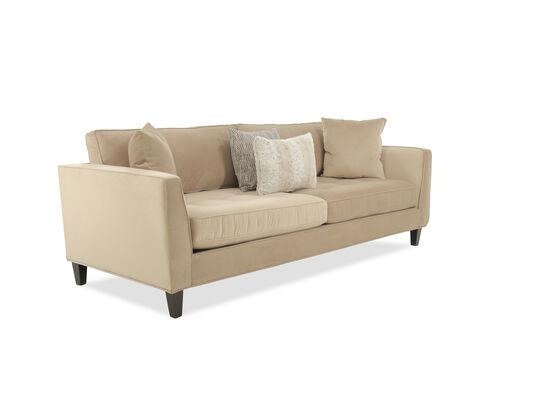 "Contemporary 92"" Sofa in Beige"