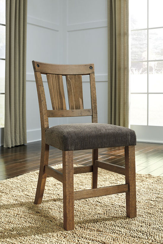 """Casual 41.5"""" Armless Bar Stool in Light Brown"""