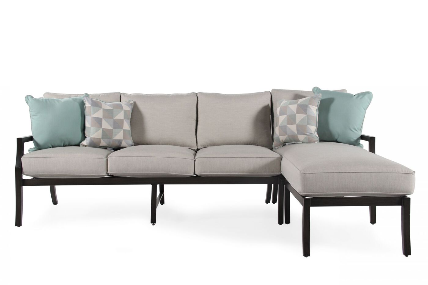 Sofa and chaise set for Agio chaise lounge