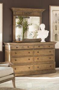 Aspen Belle Maison Aged Oak Eight-Drawer Dresser
