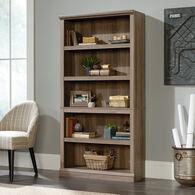 MB Home Genesis Salt Oak 5-Shelf Bookcase