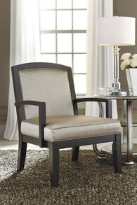 """Casual 28"""" Accent Chair in Fog"""