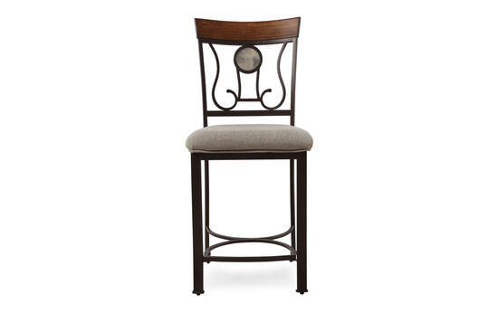 "Traditional 43"" Bar Stool in Latte"