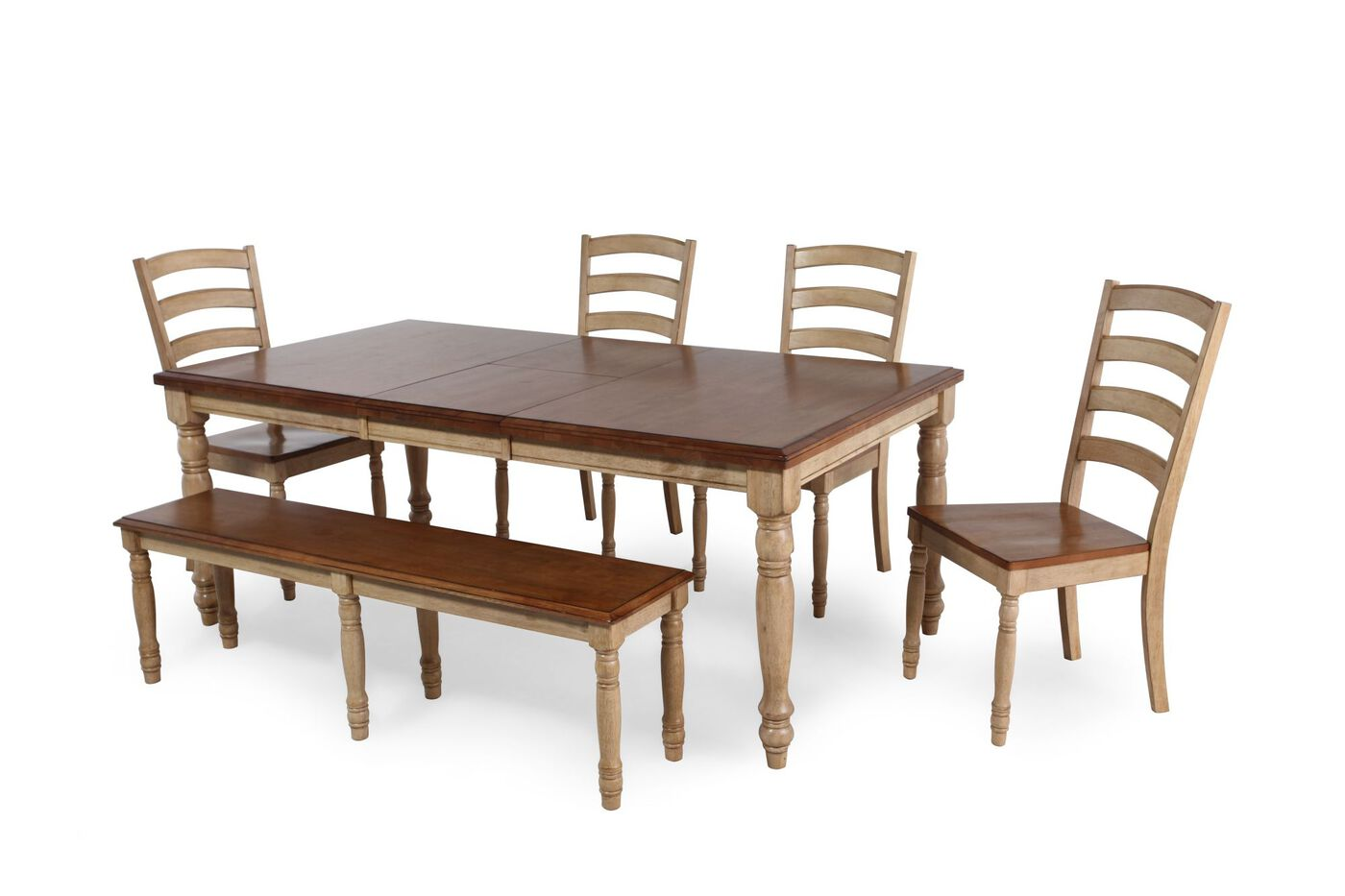 Winners Only Quails Run Six Piece Dining Set
