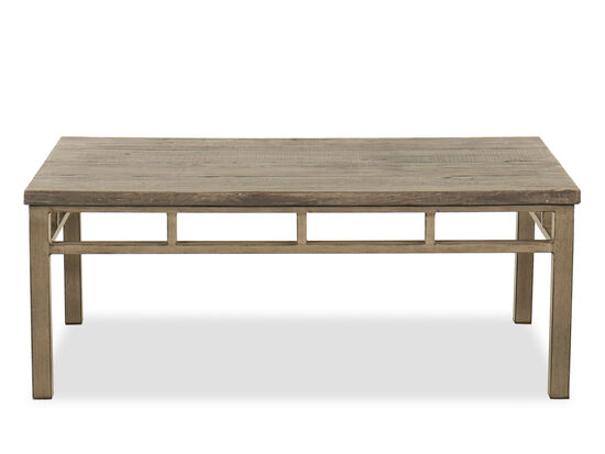 Rectangular Cocktail Table in Brown