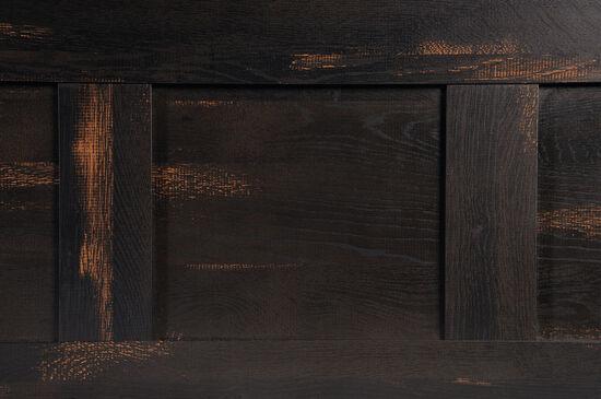 "Contemporary 56"" Full/Queen Headboardin Char Pine"