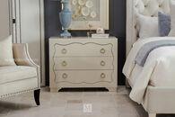 Bernhardt Salon White Nightstand