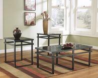 Ashley Laney Black Occasional Table Set