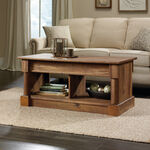 Rectangular Lift-Top Contemporary Coffee Table in Vintage Oak