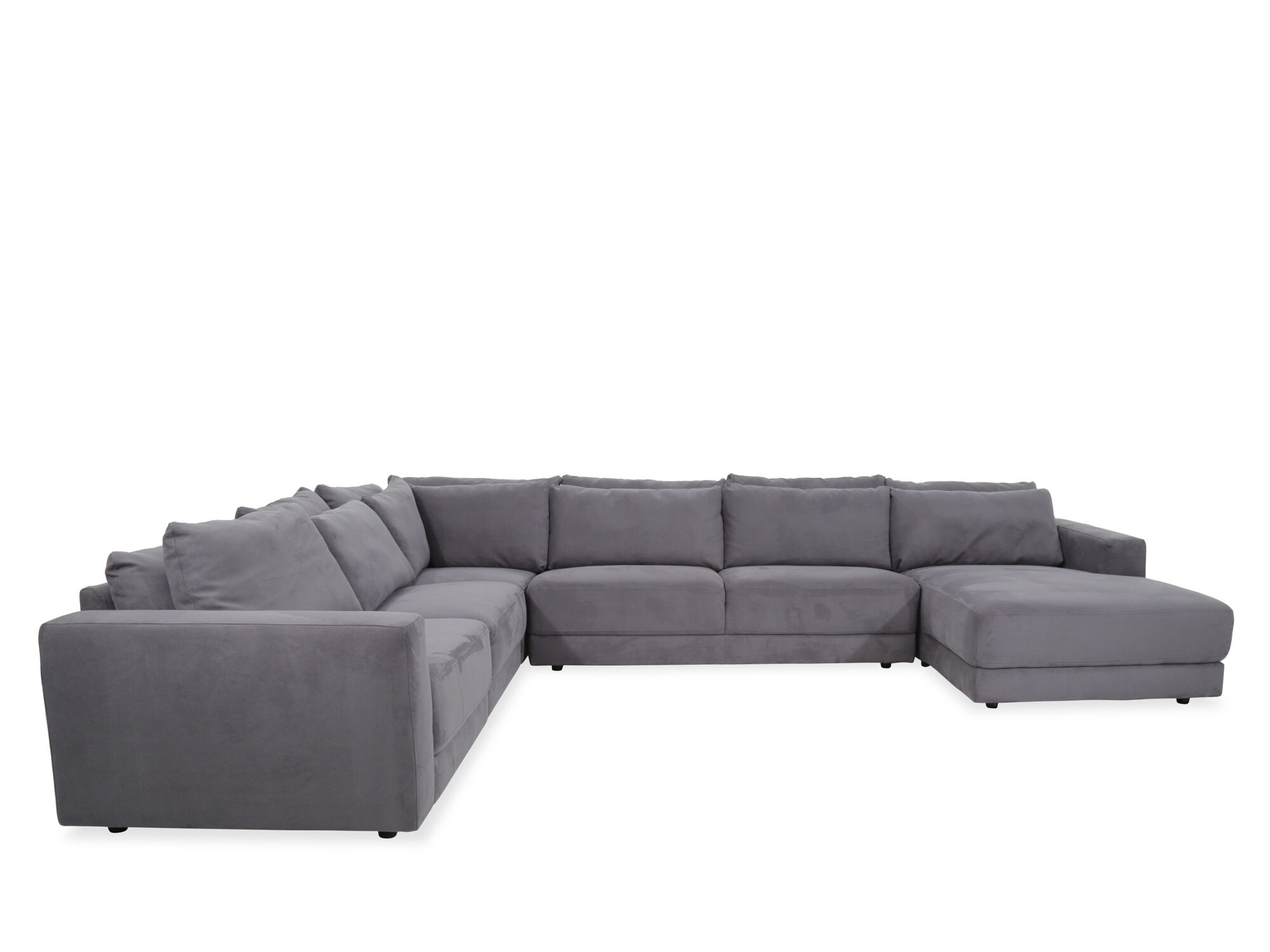 Boulevard Regata Gray Five Piece Sectional Part 78