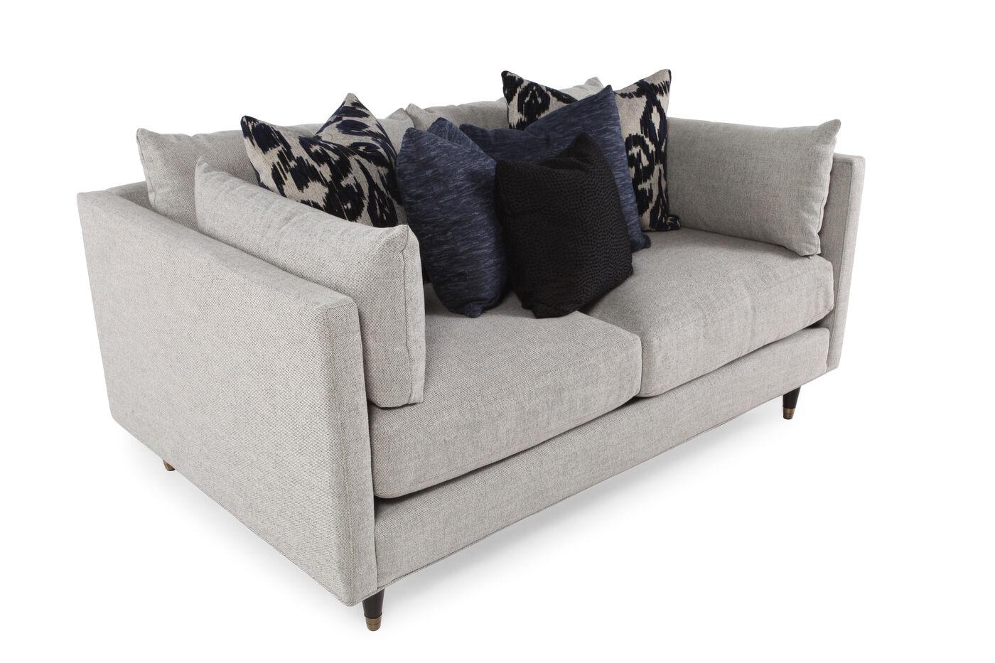 Low Profile 70 Sofa In Stone