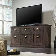 MB Home High-Street Coffee Oak Entertainment Credenza