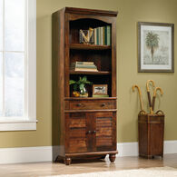 MB Home Hampshire Curado Cherry Library with Doors