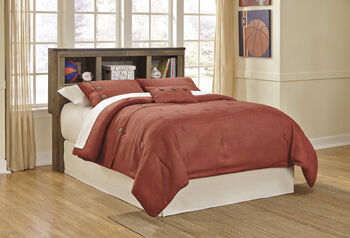 Ashley Trinell Bookcase Bed with Storage Mathis Brothers Furniture
