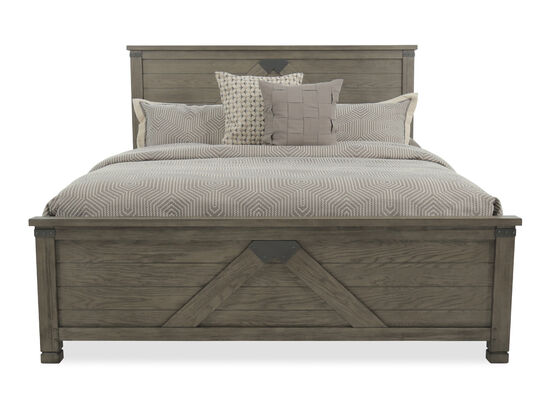 Aspen Tucker Stone King Panel Bed