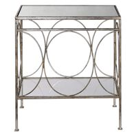 Uttermost Luano Silver End Table