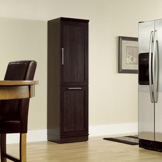 Two-Door Contemporary Storage Cabinet in Dakota Oak