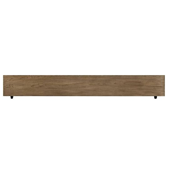 Casual Planked Youth Panel Bed in Driftwood Park