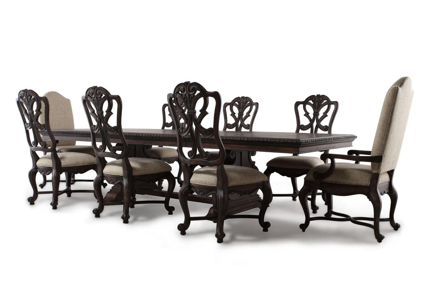hooker rhapsody nine piece dining set mathis brothers furniture hooker rhapsody nine piece dining set