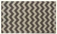 "Lb Rugs 7-13 (chevron) Hand Tufted Wool 2'-6"" X 12' Rugs"