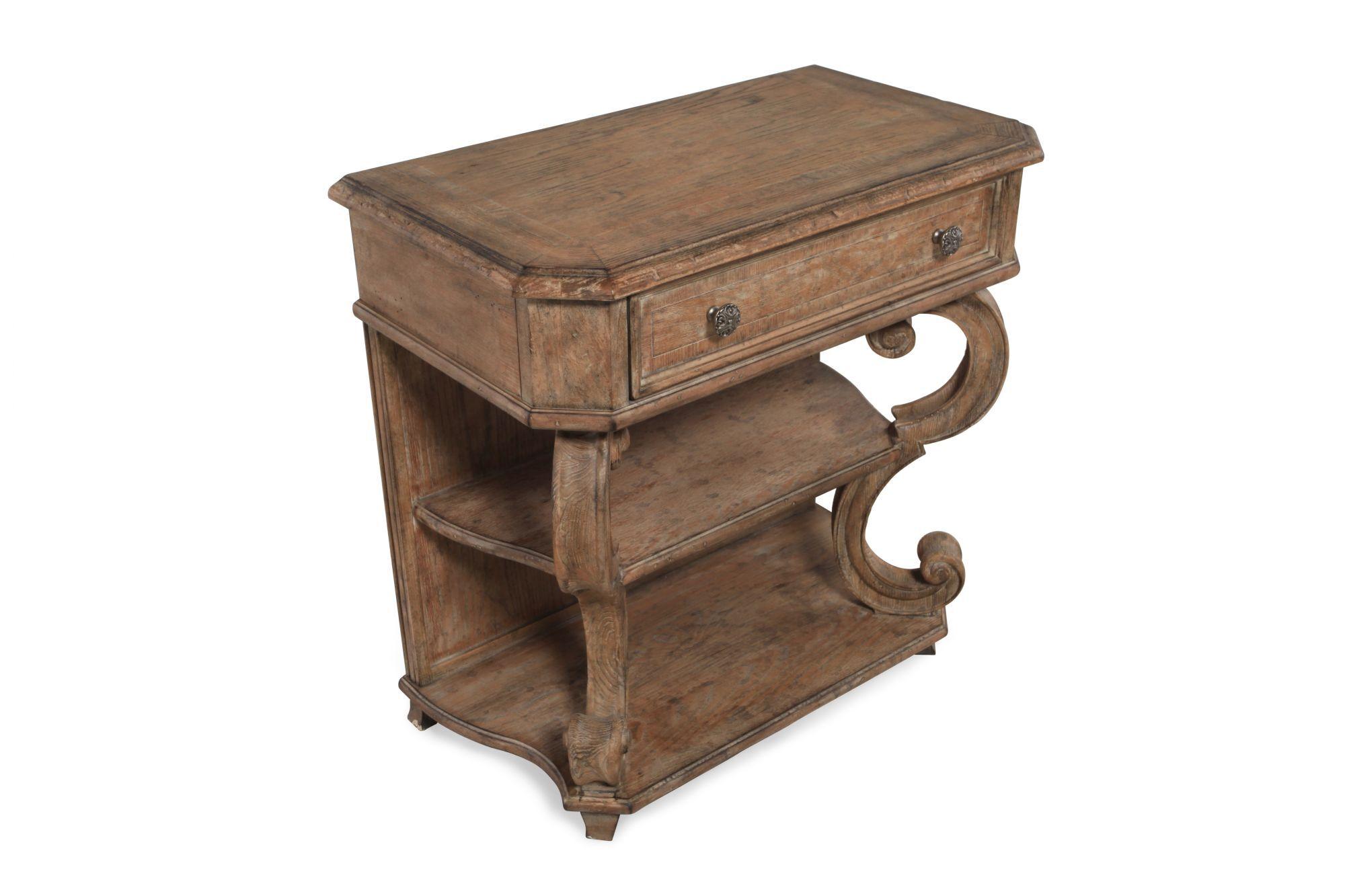 hooker solana one drawer leg nightstand video