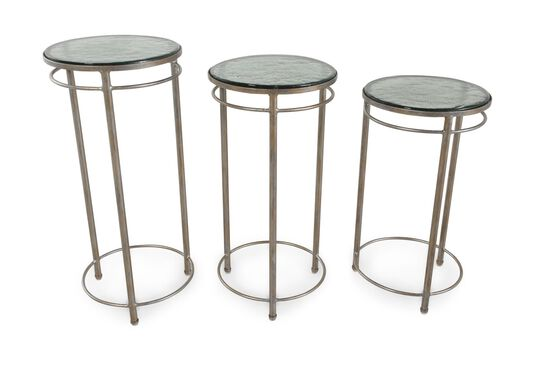 Bernhardt Interiors Darnelle Bunching Chairside Tables