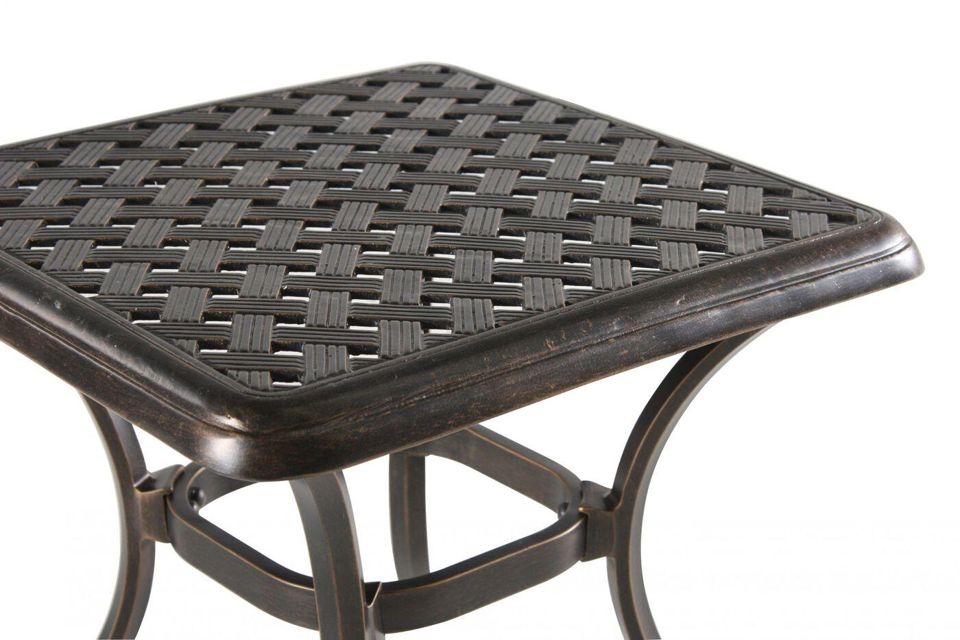 Mathis Brothers Patio Furniture agio heritage select square end table | mathis brothers furniture