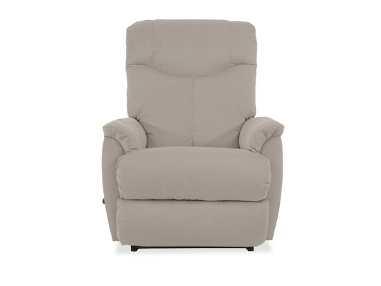 Extra-Tall Back Casual Rocker Recliner in Beige
