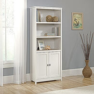MB Home Hampton Soft White Library with Doors