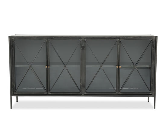 Casual X-Designed Door Console Tablein Black