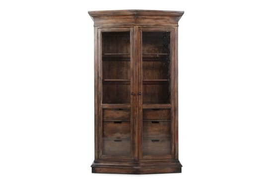 Hooker Willow Bend Two Door Display China Cabinet