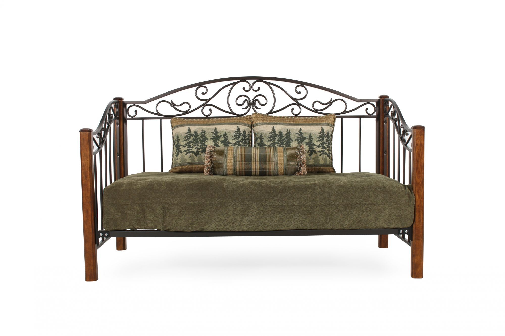 Images Country Wrought Iron Back Daybed Country Wrought Iron Back Daybed