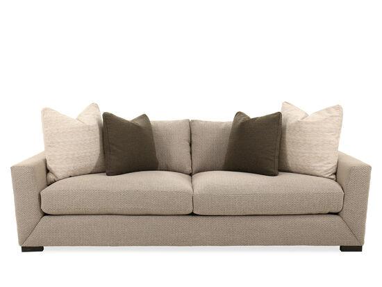"Casual 98"" Sofa in Gray"