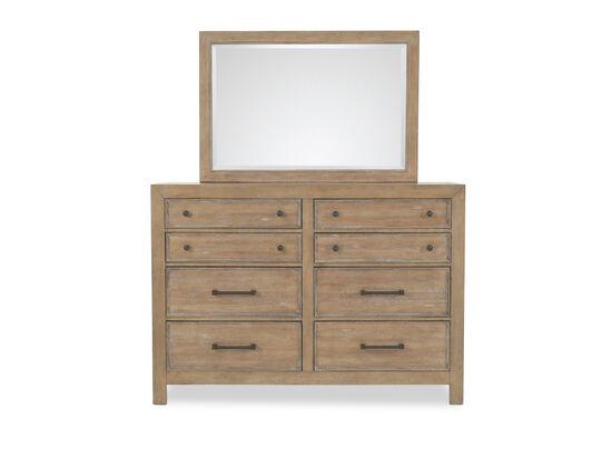 Samuel Lawrence FB Avenue Bureau Oak Dresser and Mirror