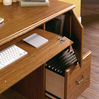 MB Home Presidency Carolina Oak Computer Desk